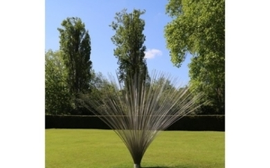 Richard Cresswell Wave 276 Stainless Steel rods 310cm high