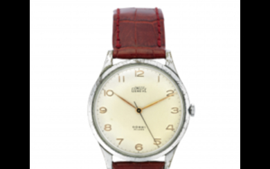 UWECO Gent's movement wristwatch 1950s/1960s Dial signed Manual-wind movement...
