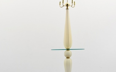 Murano Floor/Table Lamp, Manner of Archimede Seguso - Archimede Seguso, manner of