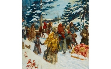 STANLEY MASSEY ARTHURS | THE REFUGEES FROM THE NIAGARA FRONTIER (THE WAR OF 1812)