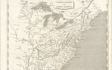 """[Lot of 3] United States of North America [and] British Possessions in America [and] Spanish Dominions in North America"", Arrowsmith, Aaron, Sr."