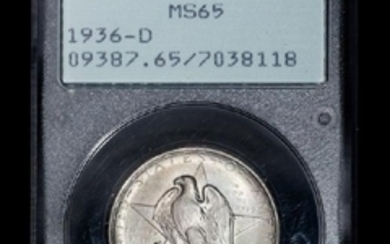 A United States 1936-D Texas Commemorative 50c Coin