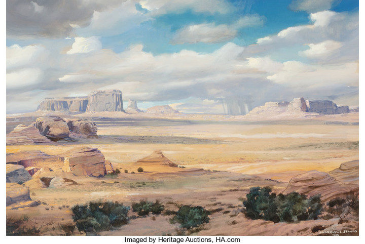 Various Artists (20th/21st Centu), Buttes in the Distance (1956)