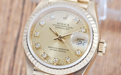Rolex - Oyster Perpetual DateJust- 69178 - Women - 1980-1989