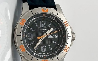 "Traser - H3 Extreme Sport Watch with Silicone Strap Swiss Made - 100196 ""NO RESERVE PRICE"" - Men - Brand New"