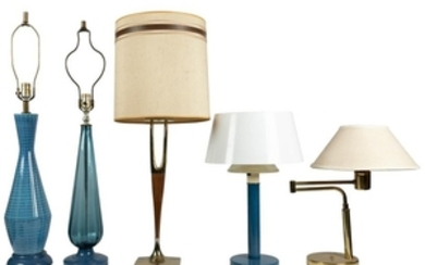 Mid Century Table Lamps - Five