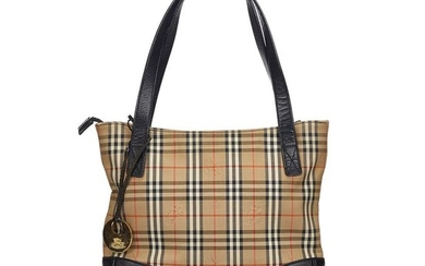 Burberry - Haymarket Check Canvas Tote Bag Tote bag