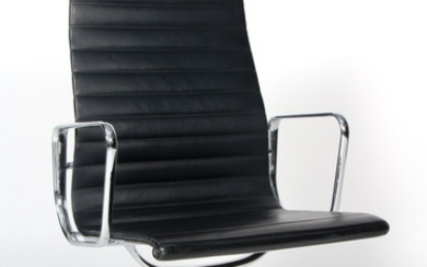 Charles Eames. Conference chair, model EA-109. Full leather