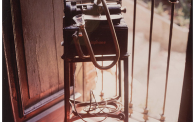 Debra Bloomfield (b. 1952), Trotsky's Dictaphone, Coyoacan, Mexico (1990)