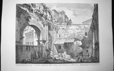 Piranesi, Giovanni: THE PORTICO OF OCTAVIA, Year 1760