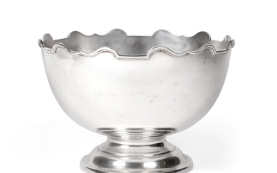 A George V Silver Rose-Bowl, by Roberts and Belk, Sheffield,...
