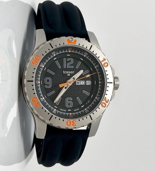 """Traser - H3 Extreme Sport Watch with Silicone Strap Swiss Made - 100196 """"NO RESERVE PRICE"""" - Men - Brand New"""