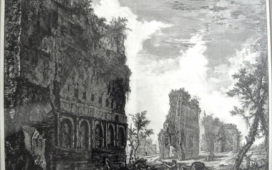 Piranesi, Giovanni: HADRIAN'S VILLA: THE PIAZZA D'ORO, Year 1776