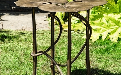 NÉNUPHARS OCCASIONAL TABLE, Claude Lalanne
