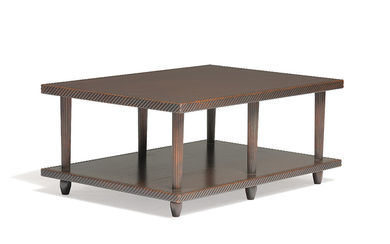 Mid-Century Modern - Mid-Century Modern: Double layer coffee tables (2)
