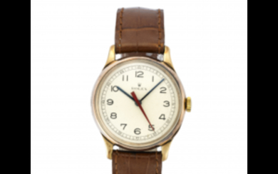 ROLEX Gent's 9K gold wristwatch 1930s/1940s Dial, movement and...