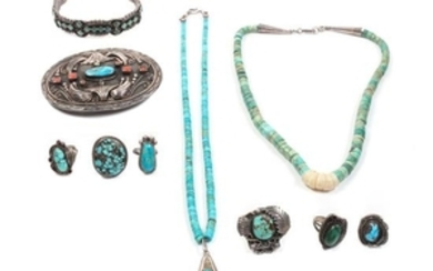 Group of Southwestern Jewelry