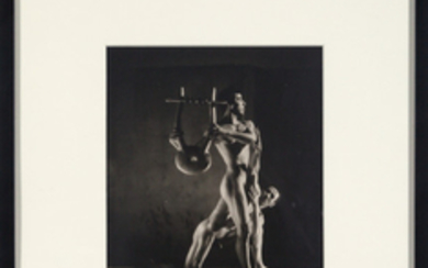 LYNES, GEORGE PLATT (1907-1955) Group of seven vintage gelatin silver prints from the 1948 Balanchine Orpheus