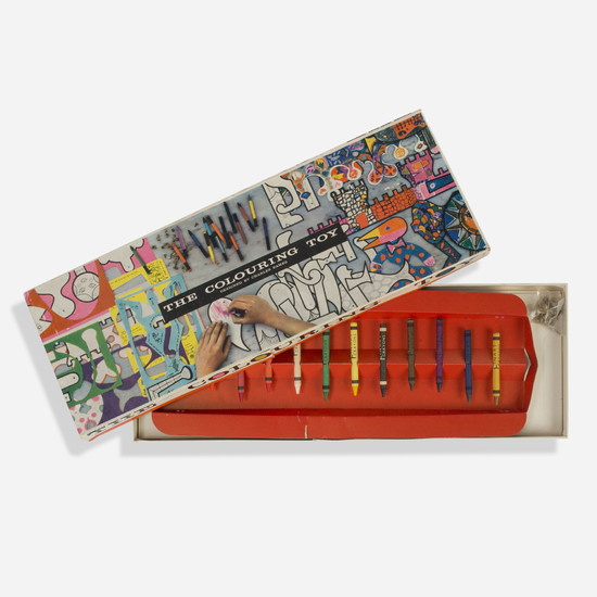 Charles and Ray Eames, The Coloring Toy
