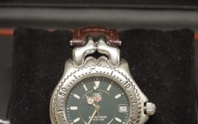 A Tag Heuer Professional 200 CAH 1111 stainless steel quartz...