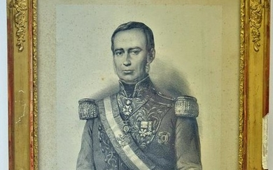 Hand signed photograph print by President of Mexico