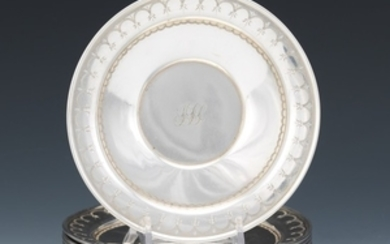 Twelve Ford & Tupper Sterling Silver Sweetmeat Plates