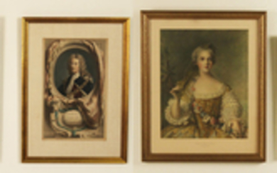 GROUP OF 4 FRAMED EUROPEAN ARTWORKS