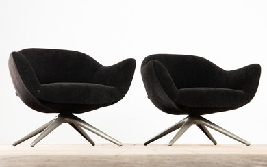 Marcel Wanders, Poliform, two chairs / lounge chairs, model 'Mad Chair', designed in 2014 (2)