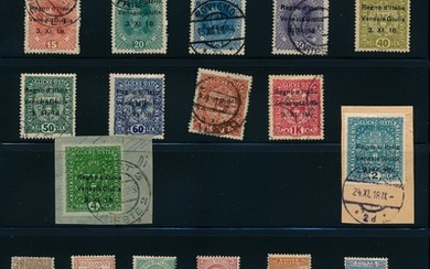 Italian Colonies. Good collection in 3 albums with many better stamps, high values and complete sets. Please inspect!